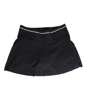 Athleta Women's Size L Black Skort Skirt 3 pockets